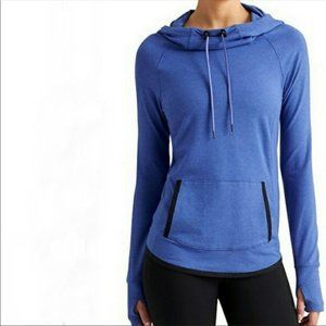 Athleta Sentry Pullover Blue Hoodie Sweatshirt XS